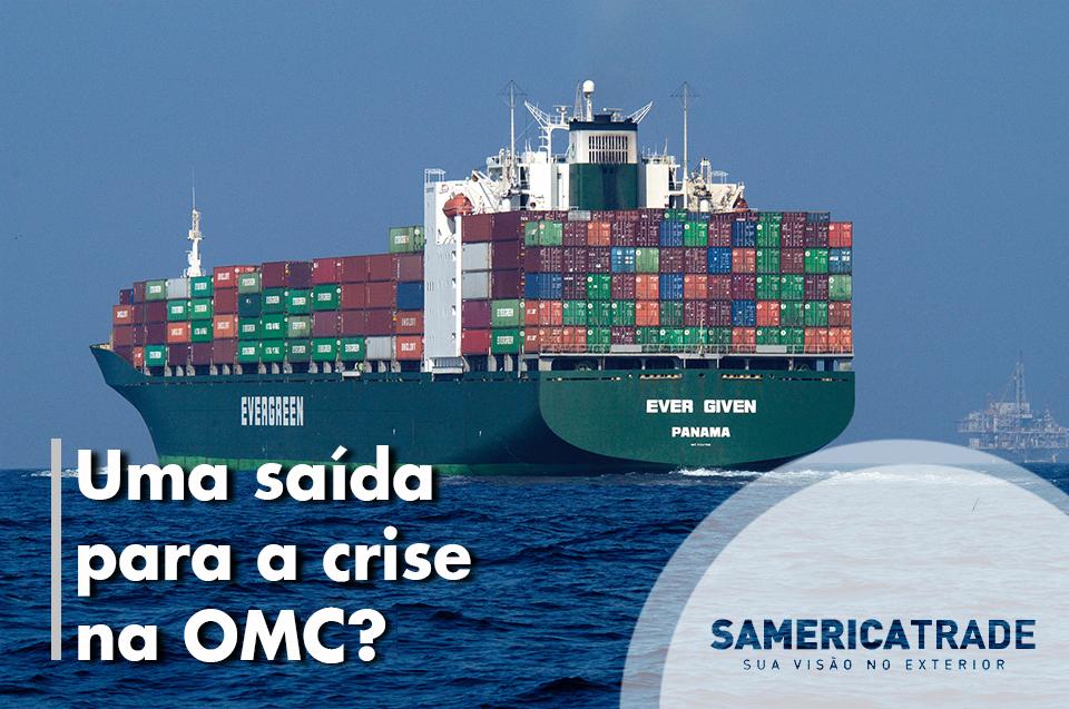 Uma Saída Para Crise Na OMC?