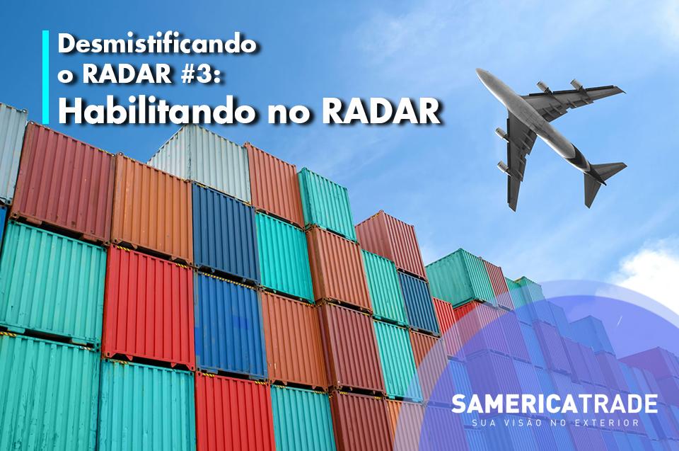 Desmistificando O Radar #3 – Habilitando No RADAR