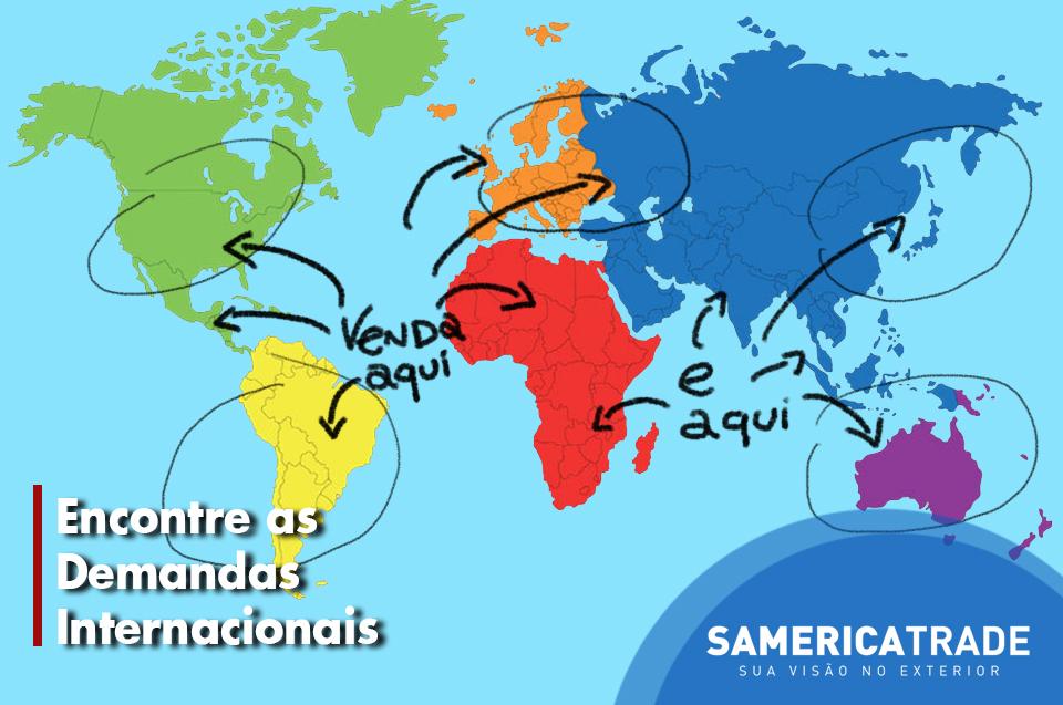 Procurando As Demandas Internacionais Para Começar A Exportar