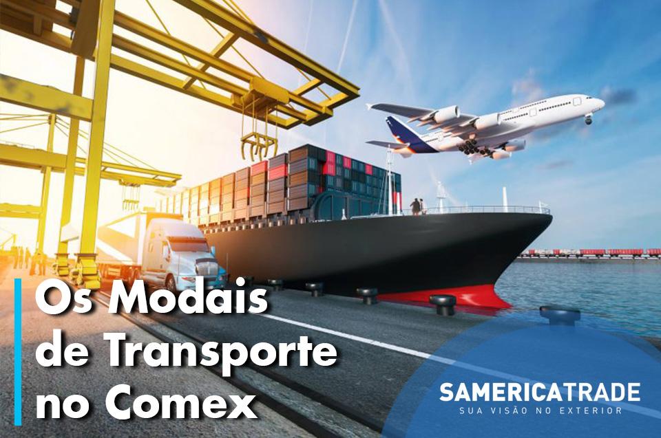 Modalidades De Transporte No Comércio Exterior