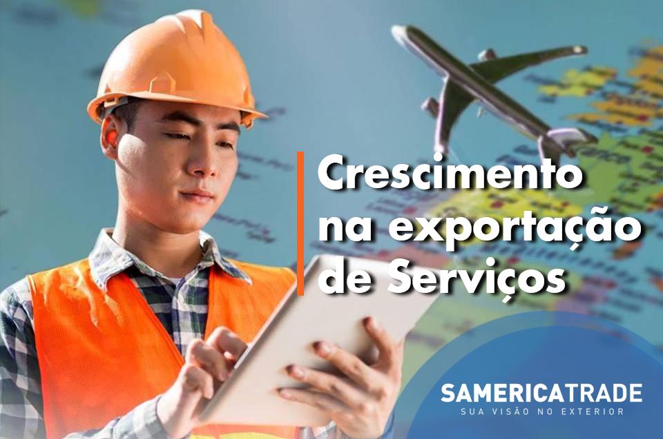 O Crescimento Na Exportação De Serviços