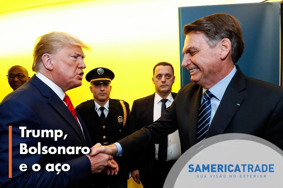 Trump Vs Bolsonaro E O Impasse Do Aço