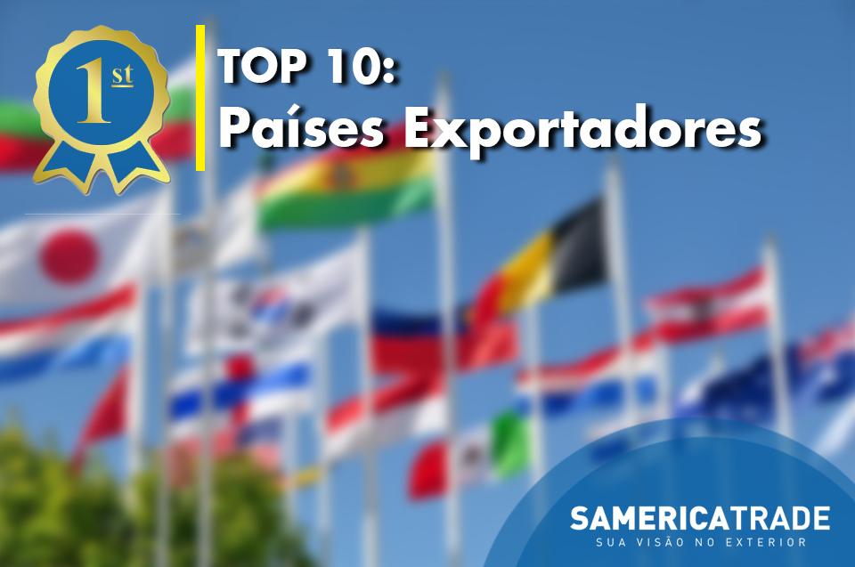 Top 10: Países Que Exportam No Mundo