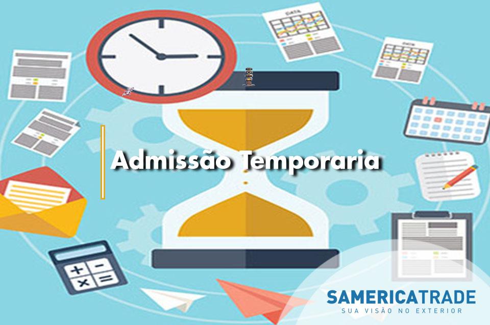 Admissão Temporária, Importação Sem Tributação
