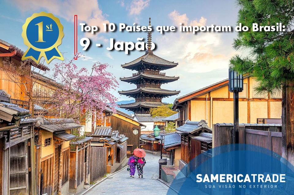 Top Países Que Importam Do Brasil: 9 – Japão